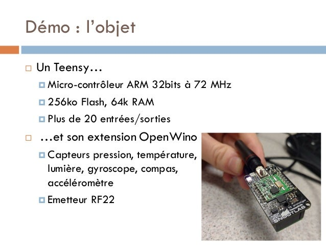 2016 05 iot apero web for Architecture of homerf