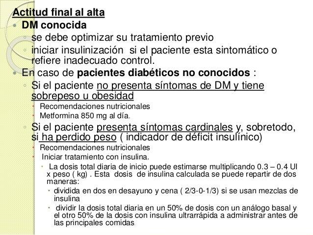 CRITERIOS DE INGRESO HOSPITALARIO  Si aparecen complicaciones metabolicas agudas (CAD, SHH).  Inicio de una DM tipo 1, s...
