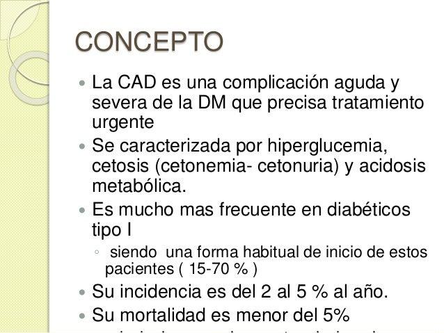 FISIOPATOLOGÍA  El déficit de insulina y el exceso de hormonas contrarreguladoras ( glucagón, catecolaminas, cortisol y h...