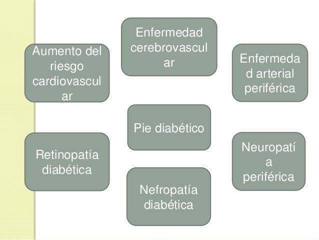 COMPLICACIONES MACROVASCULARES  Estricto control de glucemia no disminuye su incidencia  Ateroesclerosis generalizada ¡C...
