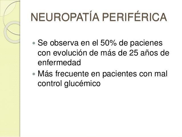 NEUROPATÍA PERIFÉRICA  Amiotrofia motora o neuropatía proximal motora: debilidad y atrofia de cuádriceps e iliopsoas  Ne...