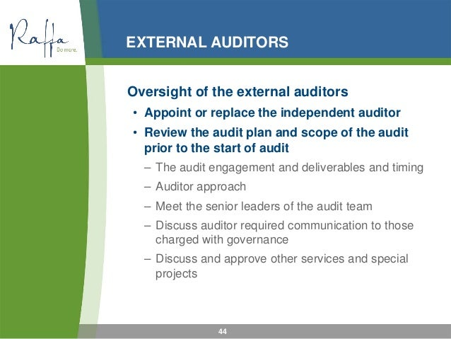 financial statements and role of external audit essay Sas 110 (february 02) 2 statement of auditing standards 110 the auditors' responsibility to consider fraud and error in an audit of financial statements.
