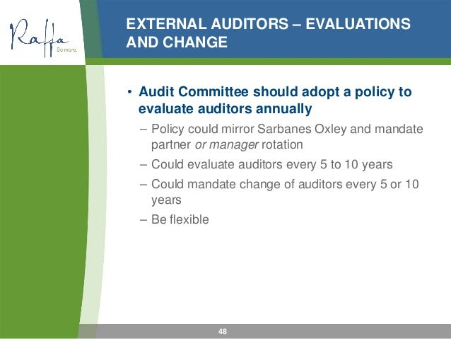 the role of auditors in public companies Internal auditors assist management and the audit committee in identifying and evaluating key business risks, completing focused audits in high risk areas, completing special investigations for the board and management and at times assisting external auditors with parts of their work on the company's financial statement.