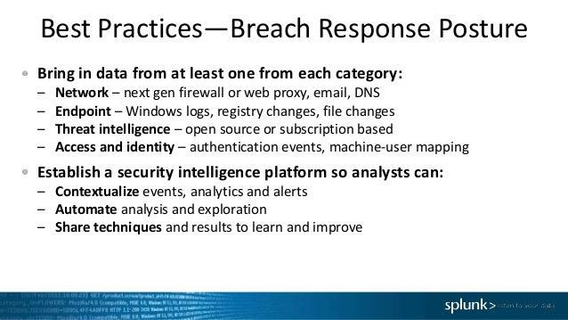 Splunk EMEA Webinar: Scoping infections and disrupting breaches