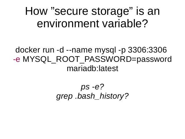 Less passwords, more security: unix socket authentication