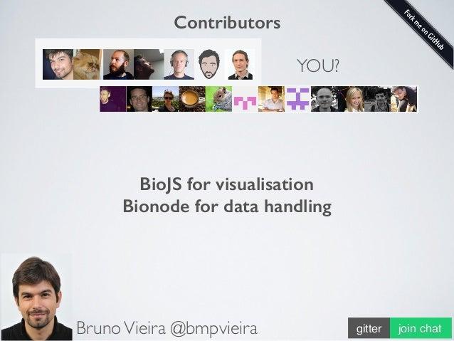 http://wurmlab.github.io • Understanding/visualising/analysing/massaging big data is hard. • Biology/life is complex. • Bi...