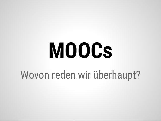 Offene Hochschule durch offene Formate. Das Projekt pMOOCs Slide 3