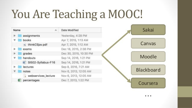 Beyond MOOCs: Open Education at Scale