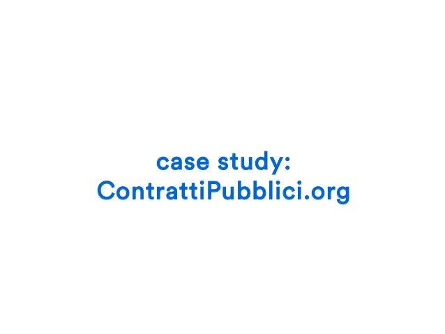 problema 10% bandi pubblici 90% affidamenti diretti e simili