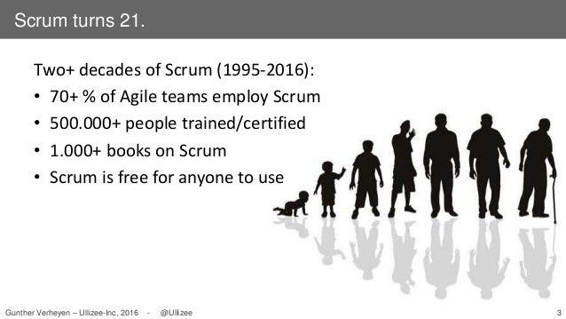 The Future Present of Scrum (Agile Tour Dublin 2016) Slide 3