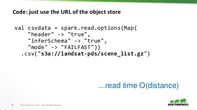 Apache Spark and Object Stores