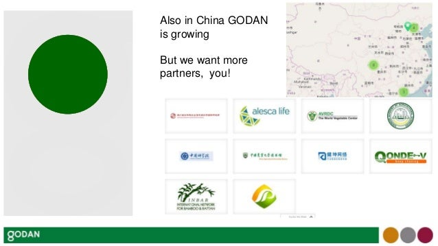 Presentation at the GODAN CAAS Workshop, Open Data and Agricultural Technology Sharing