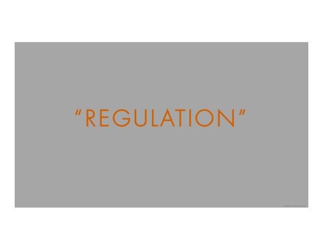 """""""REGULATION"""" © 2016 Juan Llanos"""