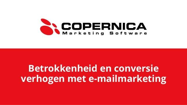 Betrokkenheid en conversie verhogen met e-mailmarketing