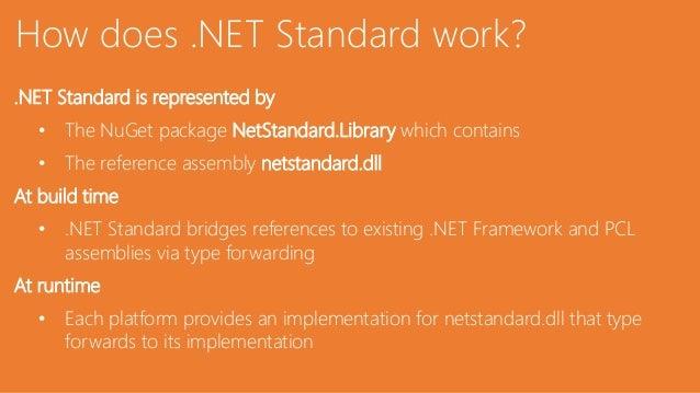.NET Standard - Under the Hood Slide 2