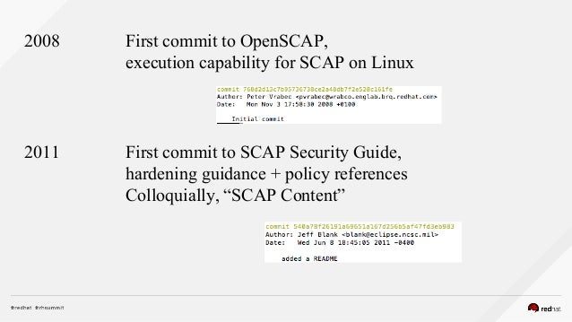 2016 -11-18 OpenSCAP Workshop Coursebook