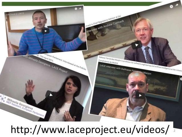 12http://www.laceproject.eu/videos/