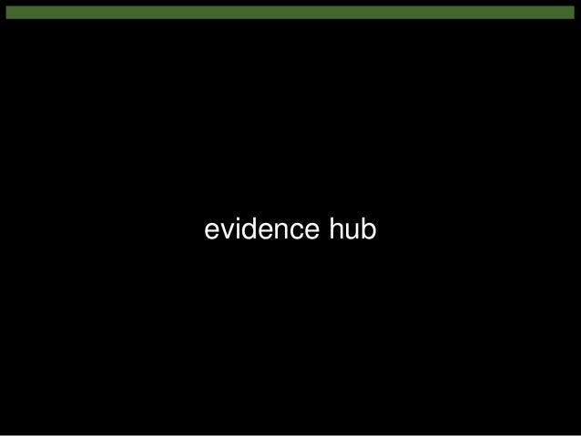 evidence hub