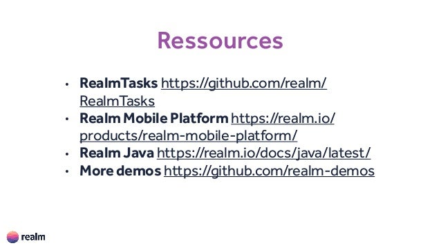 18a3c4d646b Introduction to Realm Mobile Platform