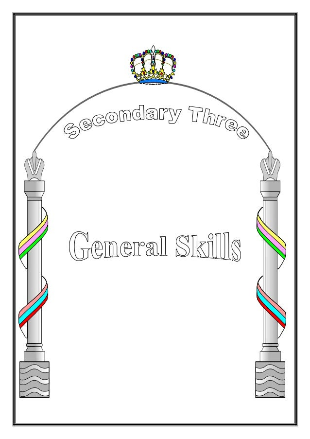 Secondary Three - Skills2 Contents No Title Page 1 Situations 4 - 20 1 Greeting 4 2 Asking for permission 4 3 Asking Peopl...