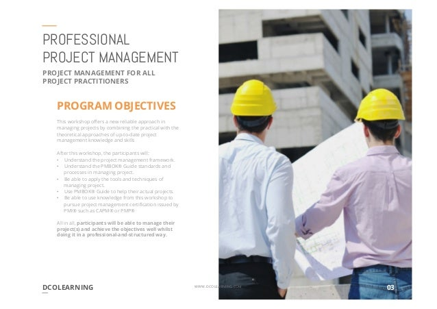 managing projects a practical guide for learning professionals