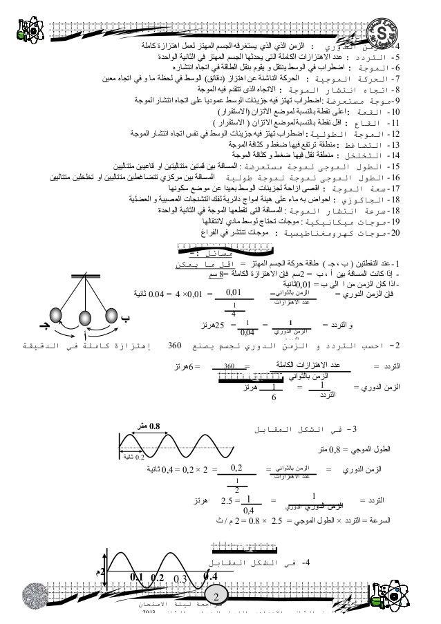 ملزمتي - ملزمة السديم في علوم الصف الثاني الإعدادي الترم الثاني Slide 2