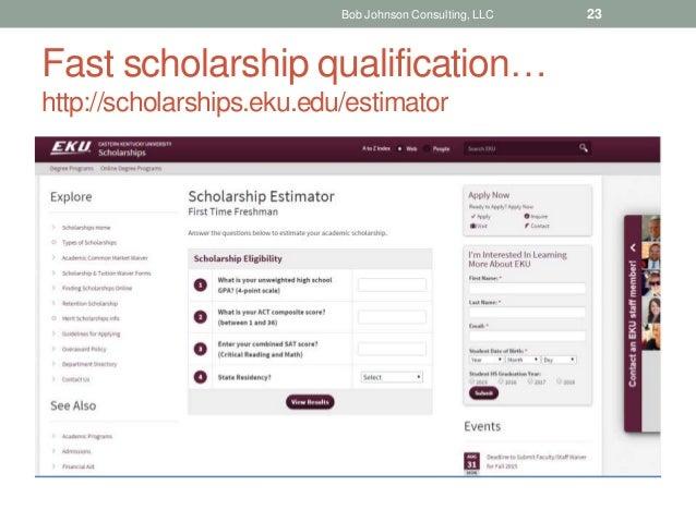 highedmarketing 22 23 fast scholarship qualification