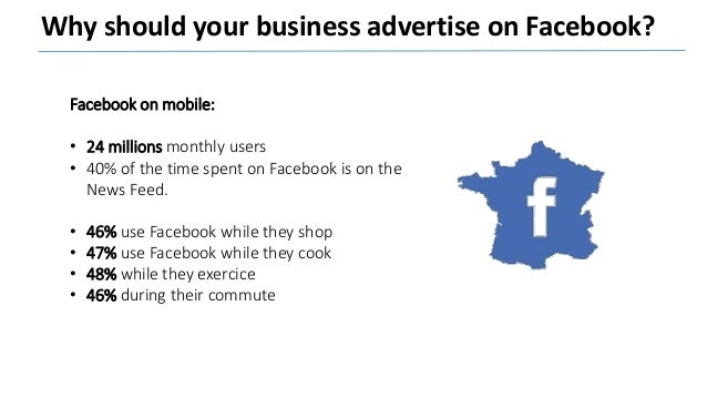 What will you miss if you are not on Facebook? • Extremely precise targeting features • Customized ads. • Competitive medi...