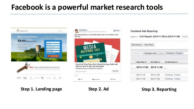 Use Facebook to launch your product / service Step 1. CRM data Step 2. Lookalike Step 3. Custom audience