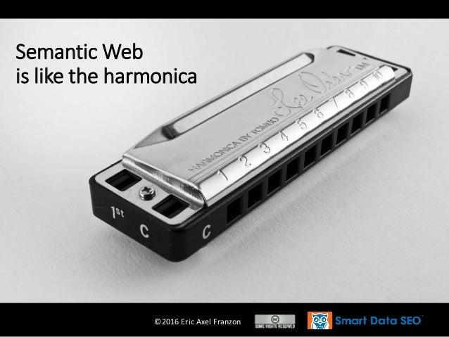 ©2016 Eric Axel Franzon Semantic Web is like the harmonica