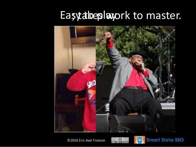 ©2016 Eric Axel Franzon Easy to play; takes work to master.