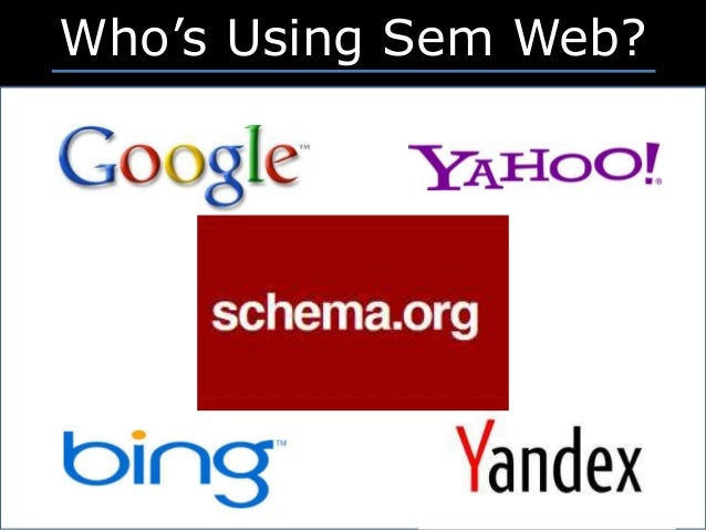 ©2016 Eric Axel Franzon Who's Using Sem Web?
