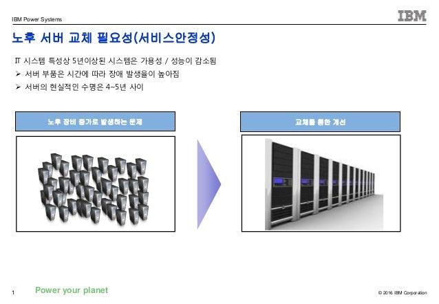 노후 서버 교체 필요성 Slide 2