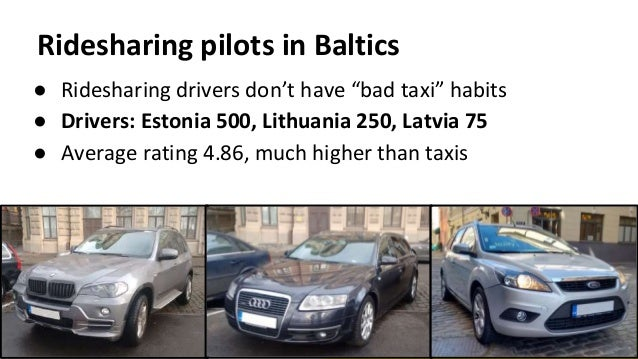 Taxify startup story & growth challenges - May 2016