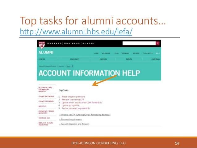 Academic programs & Services… BOB JOHNSON CONSULTING, LLC 55