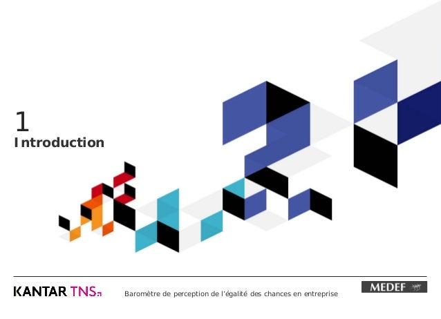 Baromètre de perception de l'égalité des chances en entreprise (2016) Slide 3