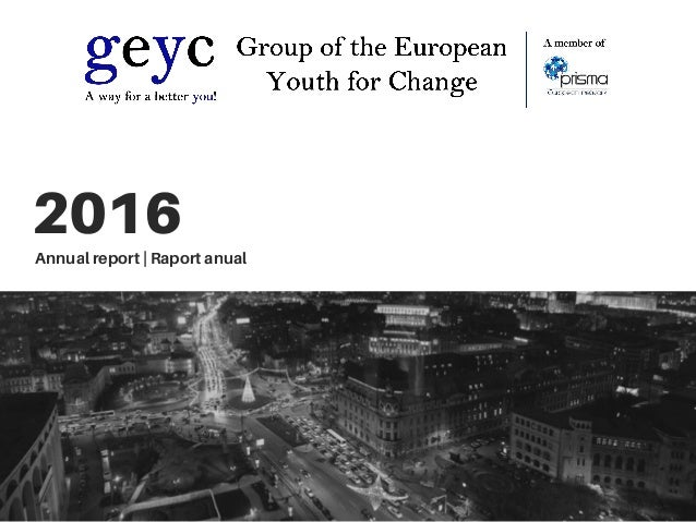 2016 Annual report | Raport anual