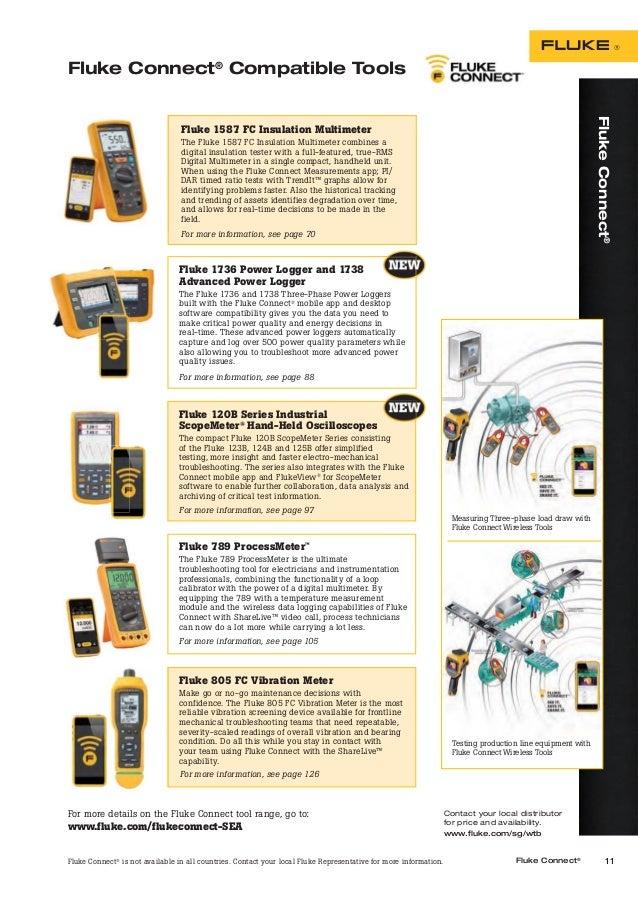 Fluke Test Tools Catalog 2017   Katalog Fluke 2017