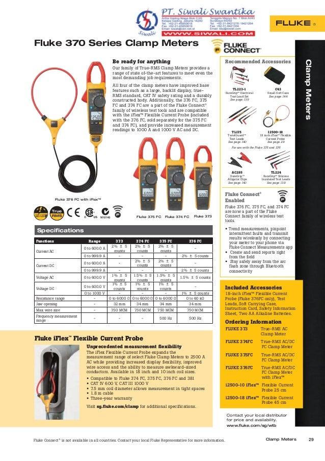 fluke 325 clamp meter manual