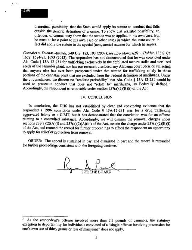 BIA Remands of Immigration Judge William Cassidy 01/01/2014
