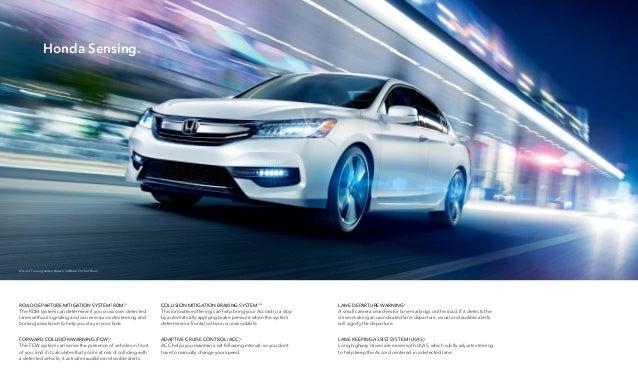 2016 Honda Accord Brochure | Jackson Area Honda Dealer