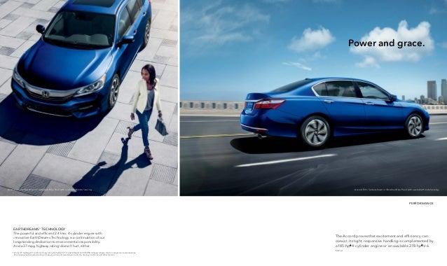 2016 honda accord brochure jackson area honda dealer for Honda dealership jackson ms