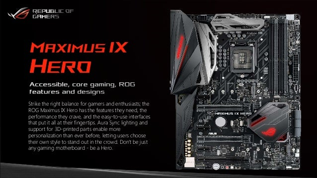 asus maximus ix hero chipset drivers