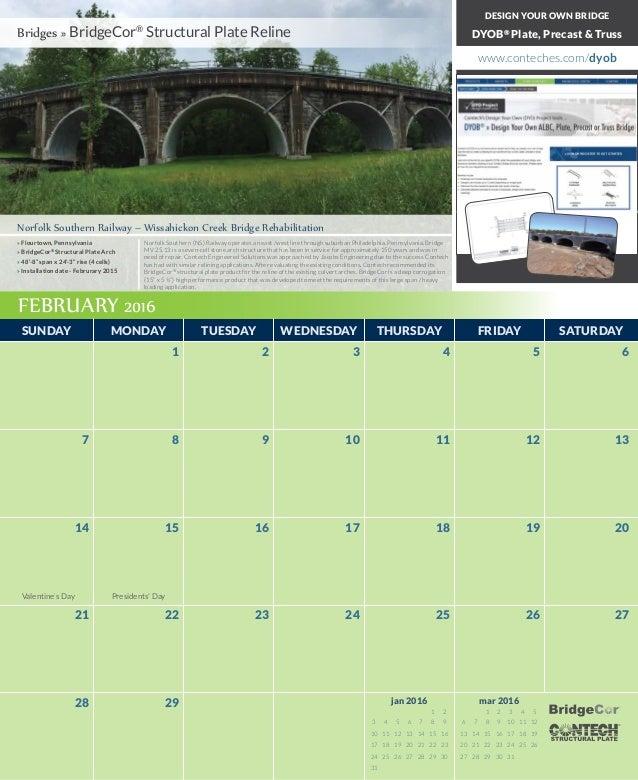 2016 Contech Calendar Slide 3