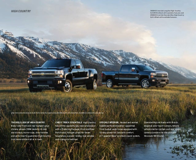 2016 Chevrolet Silverado HD Brochure | Omaha Area Chevy Dealer