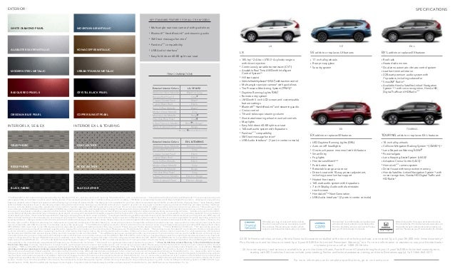 honda cr  brochure jackson area honda dealer