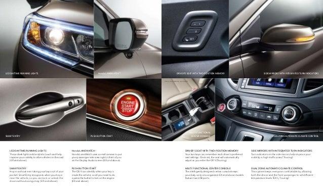 2016 Honda CR-V Brochure | Jackson Area Honda Dealer