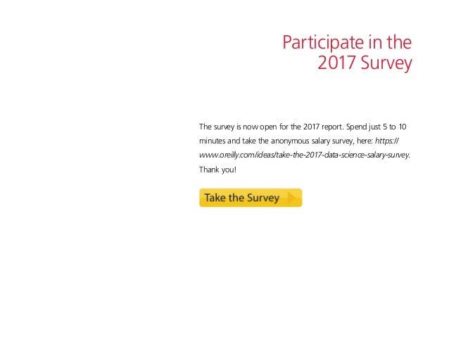 2016 Data Science Salary Survey Slide 3