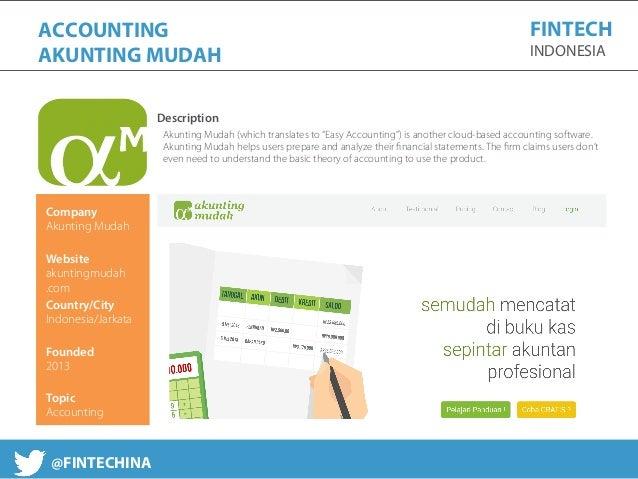 Fintech Indonesia Report 2016