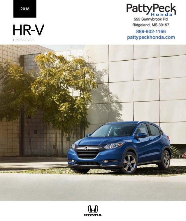 2016 honda hr v brochure ms honda dealer for Honda dealership jackson ms